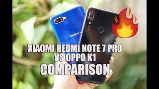 Xiaomi Redmi Note 7 Pro Vs Oppo K1 Detailed Comparison- Software, Camera And Bat
