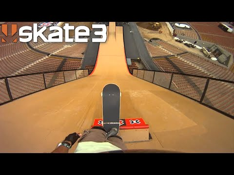Skateboarding Is A REAL Video Game...