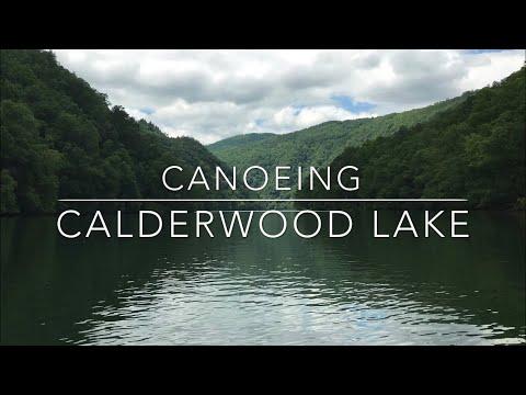 Calderwood Lake - Paddling A Mountain Reservoir