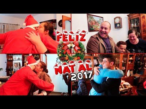 Um Natal cheio de Surpresas ! Ofereci uma TV ENORME aos meus Pais !
