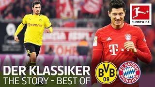 The Best of Der Klassiker | Dortmund vs. Bayern | Klopp, Lewandowski, Reus & More