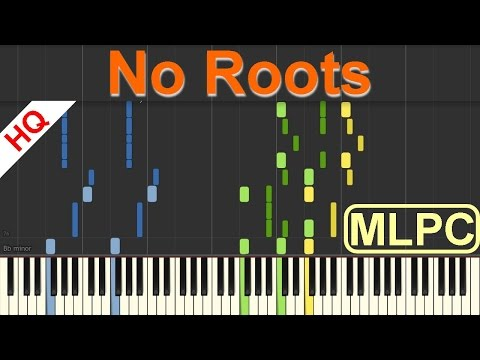 Alice Merton - No Roots I Piano Tutorial & Sheets by MLPC