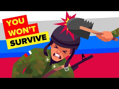 Why You Won't Survive Russian Special Forces Training
