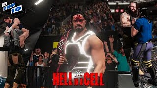 WWE 2K18 Hell In A Cell 2018 Top 10 Predictions!