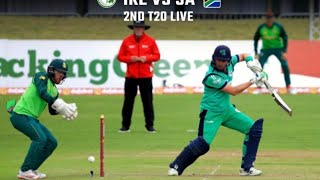 Ireland vs South Africa 2nd T20 LIVE | 2nd T20 RSA vs IRE 2021 LIVE Match | IRE vs RSA T20 Live