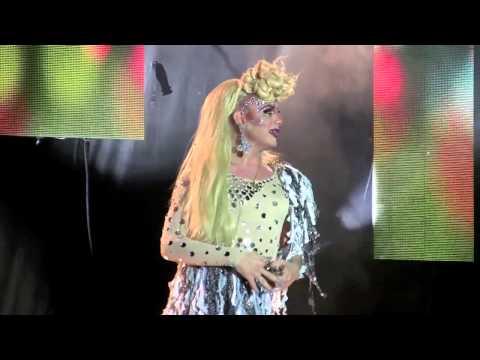 Summer Knight - 2012 Atlanta Starlight Cabaret Drag Queen Show - Gay Pride Atlanta 2012