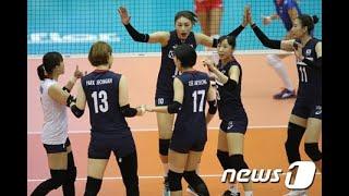 女子バレー韓国、世界女子バレーボール選手権大会4勝1敗…ベスト16進出な...