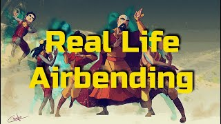 Real Life Airbending | What is Bagua