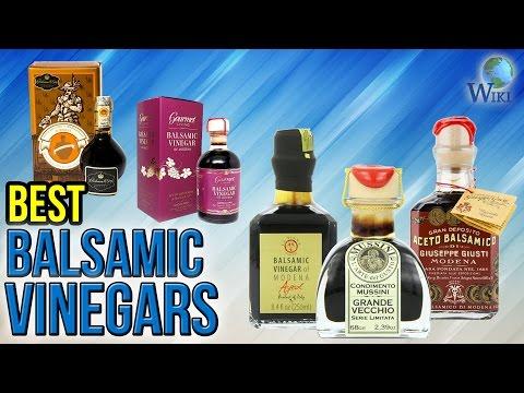 10 Best Balsamic Vinegars 2017