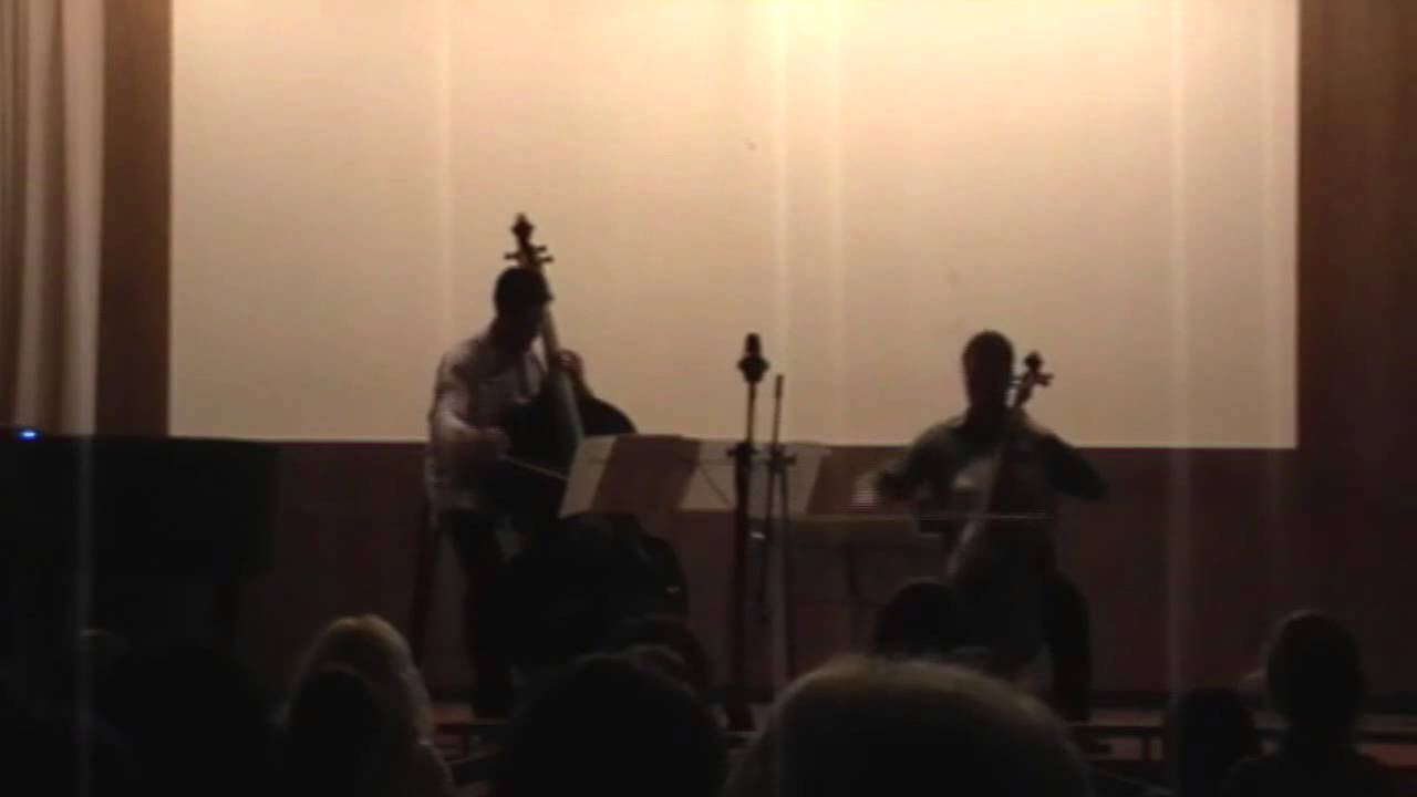 Souvenirs de Bellini for Cello and Bass (J. Goltermann)
