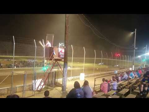 """Ross """"The Boss"""" Robinson Takes The Checkered Flag @ Potomac Speedway!! 4/13/18"""