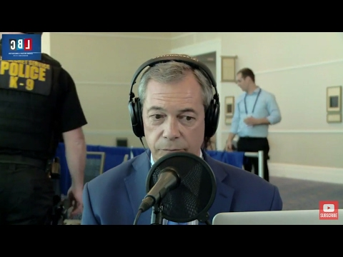 The Nigel Farage Show: Evacuation! - Clive Bull Takes Over. Live LBC U.S.A Feb 23rd 2017.