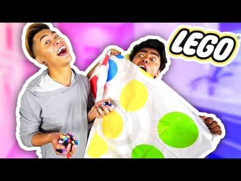 Thumbnail: LEGO TWISTER CHALLENGE WITH MY BROTHER!