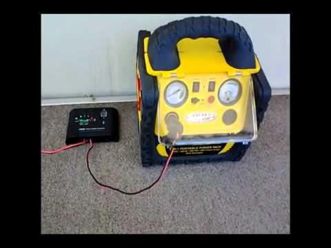 Easy and Cheap 80 Watt Solar Power System