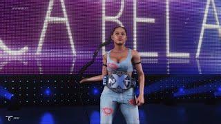 WWE 2K19 - Scarlett Bordeaux and Bianca BelAir VS Lana and Madison Rayne