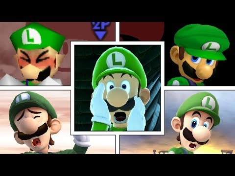Evolution Of Luigi In Super Smash Bros Series (Moveset, Animations & More) thumbnail