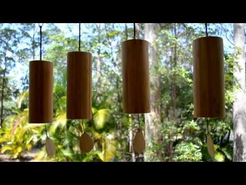 [10 Hours] Koshi Wind Chimes Earth, Air, Water, Fire - Video & Audio [1080HD] SlowTV