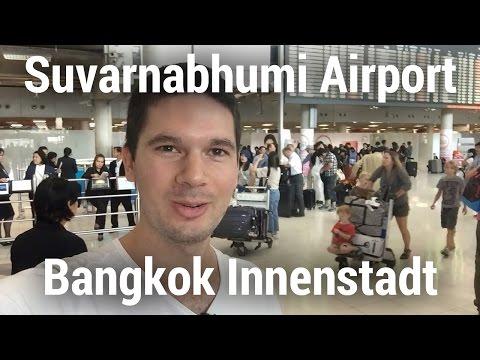 Vom Suvarnabhumi Flughafen in die Innenstadt von Bangkok