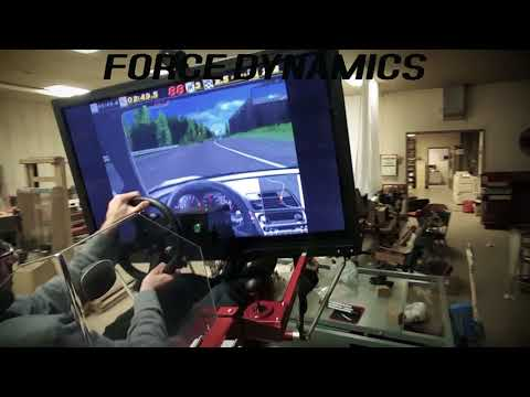 Need For Speed: SE on the Force Dynamics 401cr racing simulator
