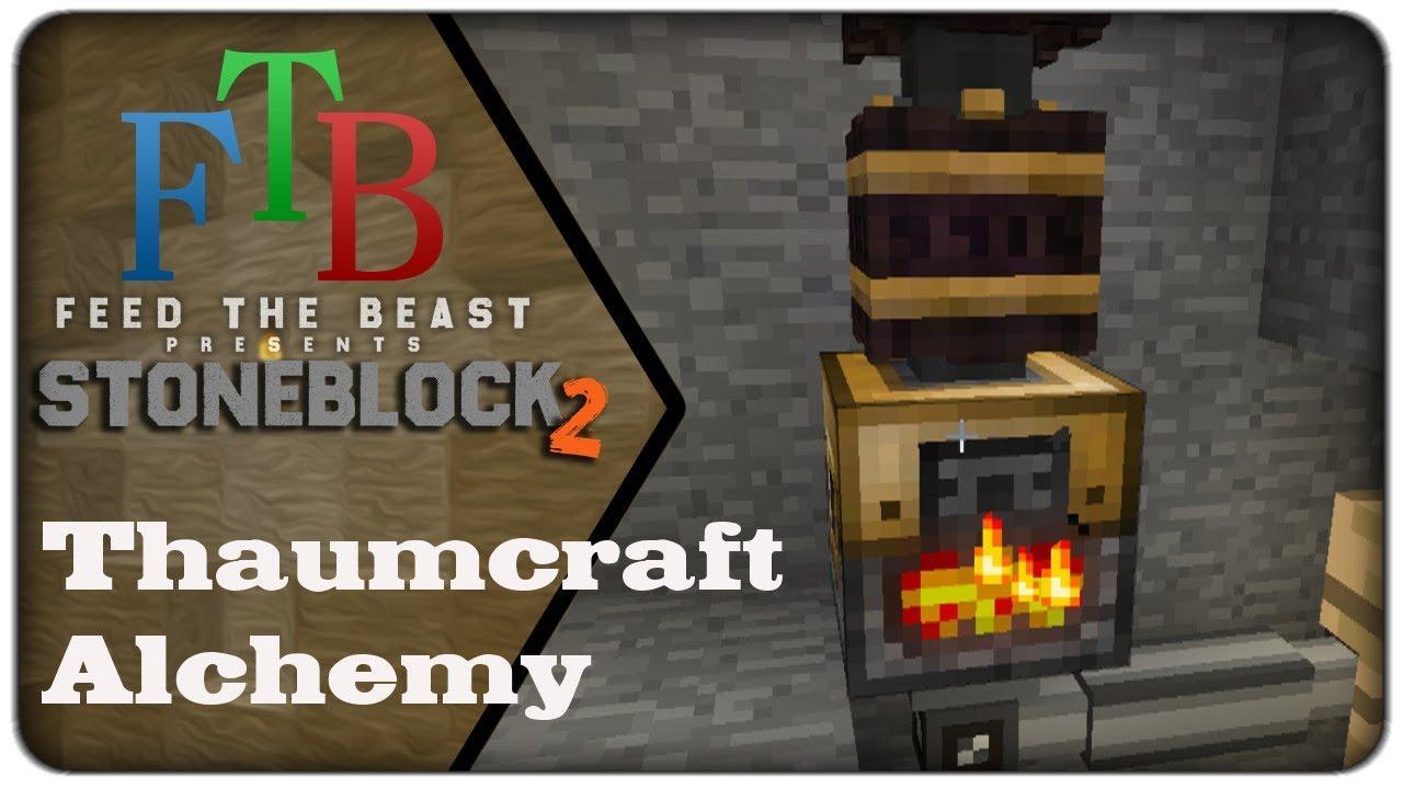 STONEBLOCK 2 - Thaumcraft Alchemy - Day 22