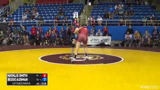 117 1st Place - Jessie Ausman (Texas 1) vs. Natalie Smith (Washington 1)