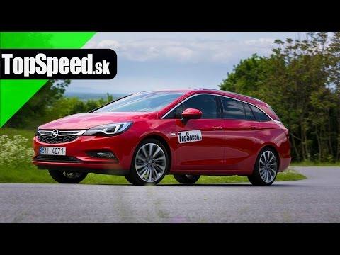 Test Opel Astra ST 1.6i turbo (gen. K) TopSpeed.sk
