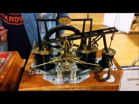 Model Engineering Show 2017 at the American Precision Museum in Windsor Vermont