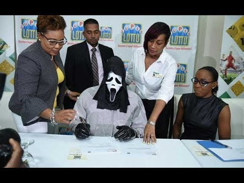 Lottery winner wears mask to collect Sh129 million prize so family won't demand money | Kenya