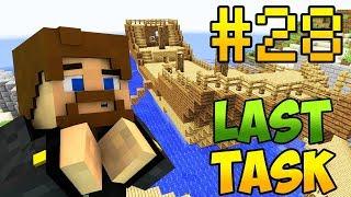 Minecraft LastTask 2 #28 - СТРОИТЕЛЬСТВО КОРАБЛЯ, МЕЛ СНОВА ТРОЛЛИТ