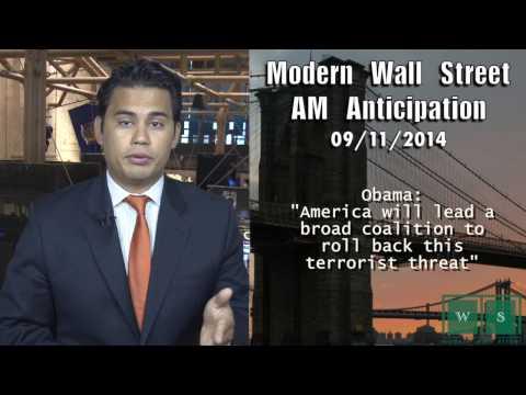AM Anticipation: Futures weak, Obama talks terrorism, jobs data awaits