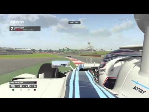 F1 2015  Silverstone Test Race