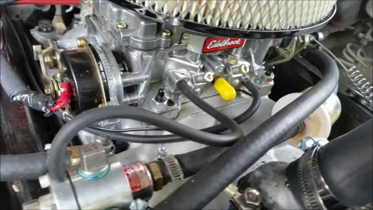 Ford Wiring Diagram Distributor 2009 Explorer Chevy Truck Tbi To Carb Conversion 2 - Youtube
