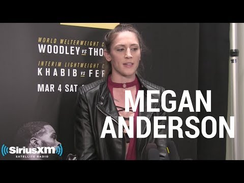 Megan Anderson Given No Answer Why UFC Won't Sign Her to Featherweight Division