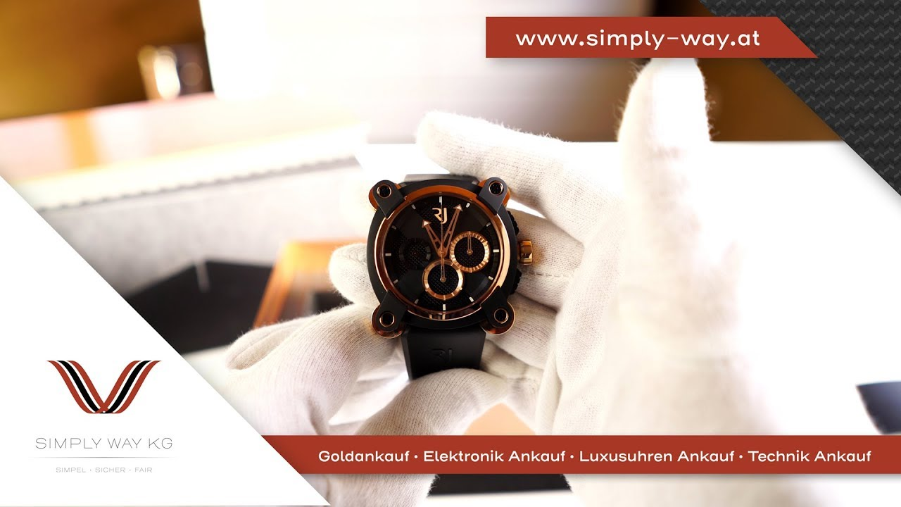 Unboxing 4K   Romain Jerome Moon Invader Ref  RJ.M.CH.IN.004 - YouTube c66ada3540