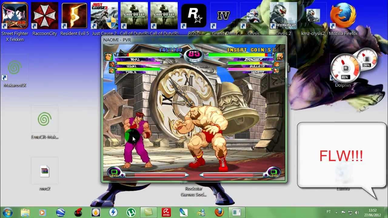 Marvel vs capcom 2 emulador makaron ex youtube.