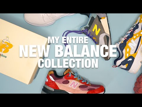 My Entire NEW BALANCE Sneaker Collection