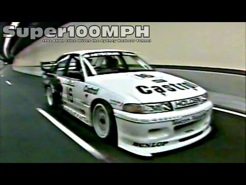 1992 ALLAN GRICE Drives The Sydney Harbour Tunnel