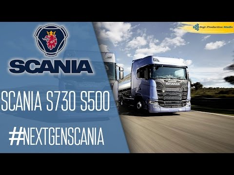 Presentation Next Generation Scania S730. R500.
