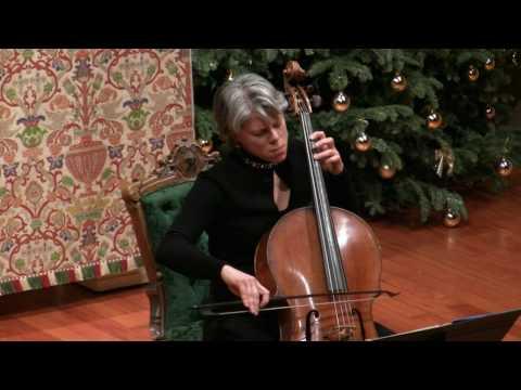 J.S. Bach: Sarabande BWV 1007 Tanya Tomkins, baroque cello