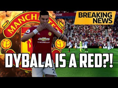 FIFA 18 Manchester United Career Mode #2: DYBALA IS A RED!