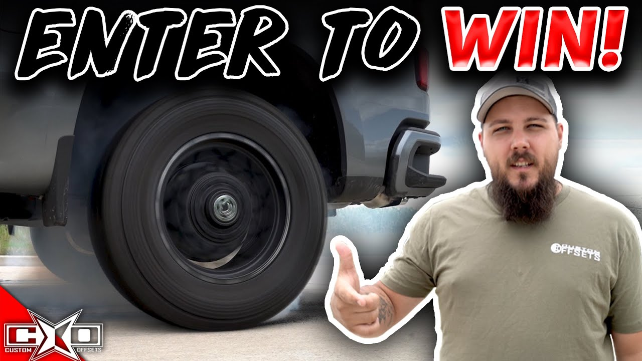 TRUCK GIVEAWAY! LESS THAN A MONTH!