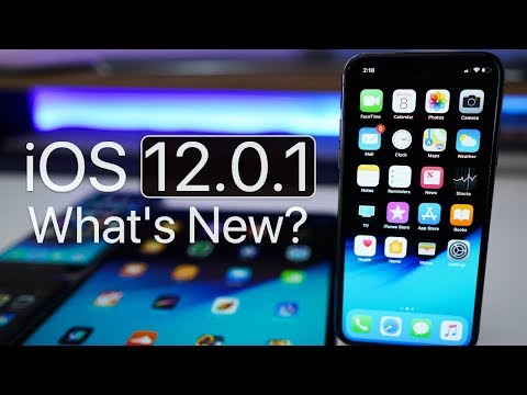iOS 12.0.1 is Out! - What's New?