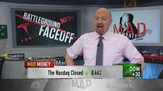 Jim Cramer turns bullish on Tesla — 'I'm a true believer'