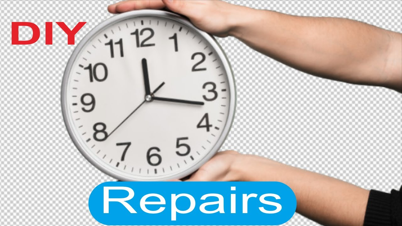 How To Repair Dead Wall Clocks Youtube
