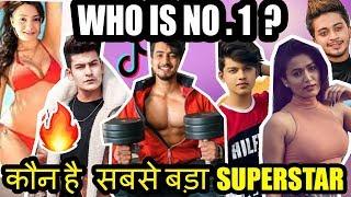 Top 10 Tik Tok Stars In India Mr Faisu Jannat Zubair Manjul khattar Sagargoswami Riyaz Gima ashi