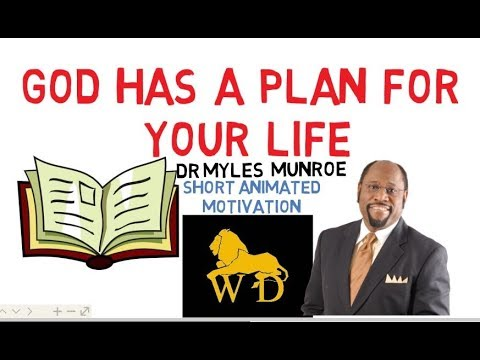 DID YOU KNOW THERE'S A GREAT BOOK ON YOUR LIFE? by Dr Myles Munroe Must Watch