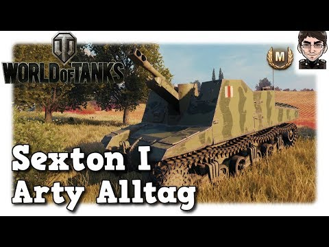World of Tanks - Sexton I, Arty Alltag auf Tier 3 [deutsch | gameplay] thumbnail