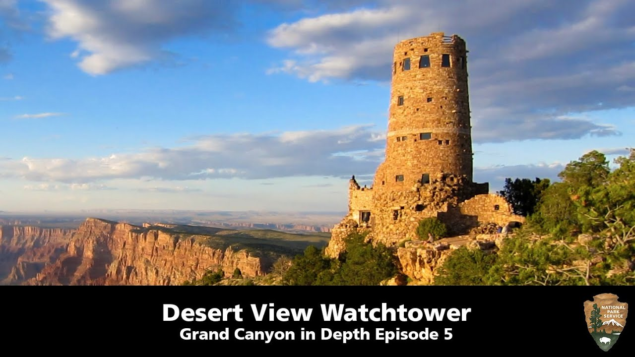 Desert View Watchtower - Grand Canyon in Depth Episode 5
