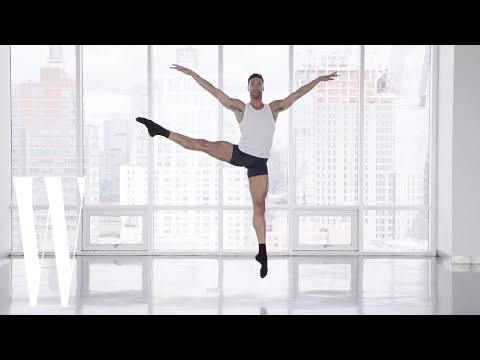 A to Z with Fabrice Calmels, Model and World's Tallest Ballet Dancer | W Magazine
