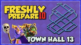 Freshly Prepare Top 10 TH13 War base & Legend League Base || Town Hall 13 Base with Link ||